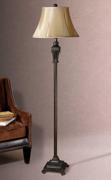 Emmanuel Floor Lamp Set/2 - Size: 163H x 46W x 46D (cm)