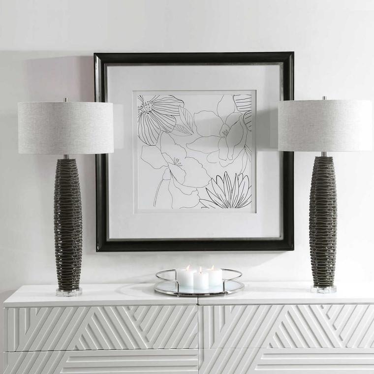 Achilleus Modern Table Lamp - Size: 91H x 46W x 46D (cm)