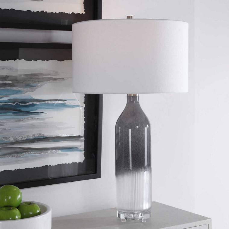 Natasha Art Glass Table Lamp - Size: 77H x 43W x 43D (cm)