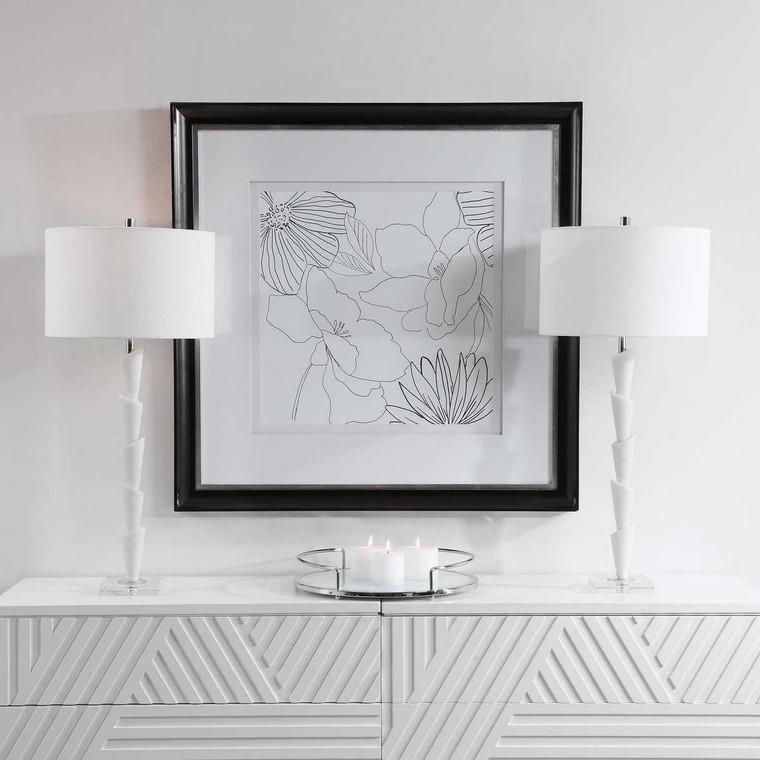 Ibiza Modern Table Lamp - Size: 91H x 41W x 41D (cm)