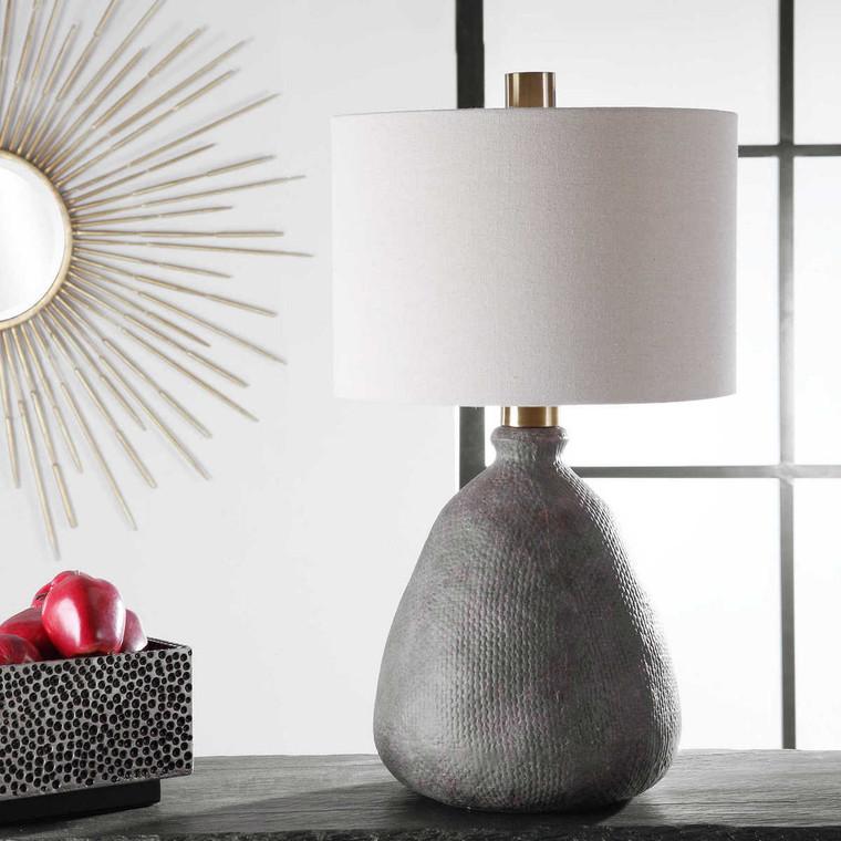 Bandera Distressed Table Lamp - Size: 70H x 39W x 39D (cm)