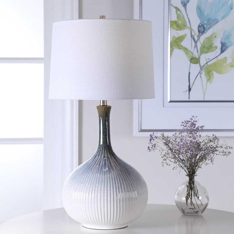 Eichler Mid-Century Table Lamp - Size: 71H x 36W x 36D (cm)