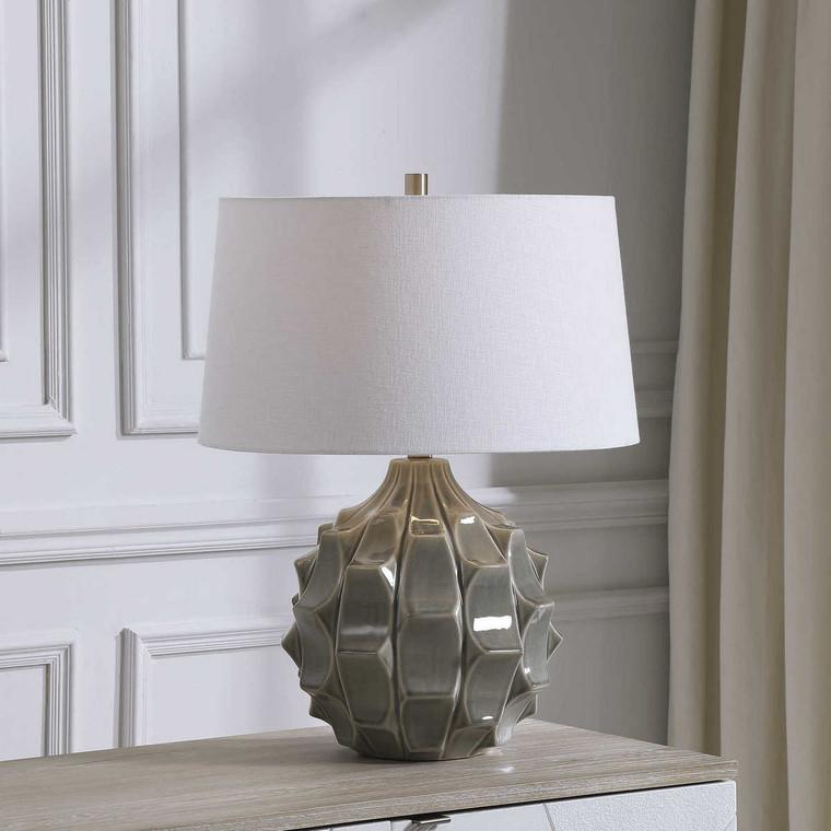 Guerina Gray Table Lamp - Size: 64H x 48W x 48D (cm)