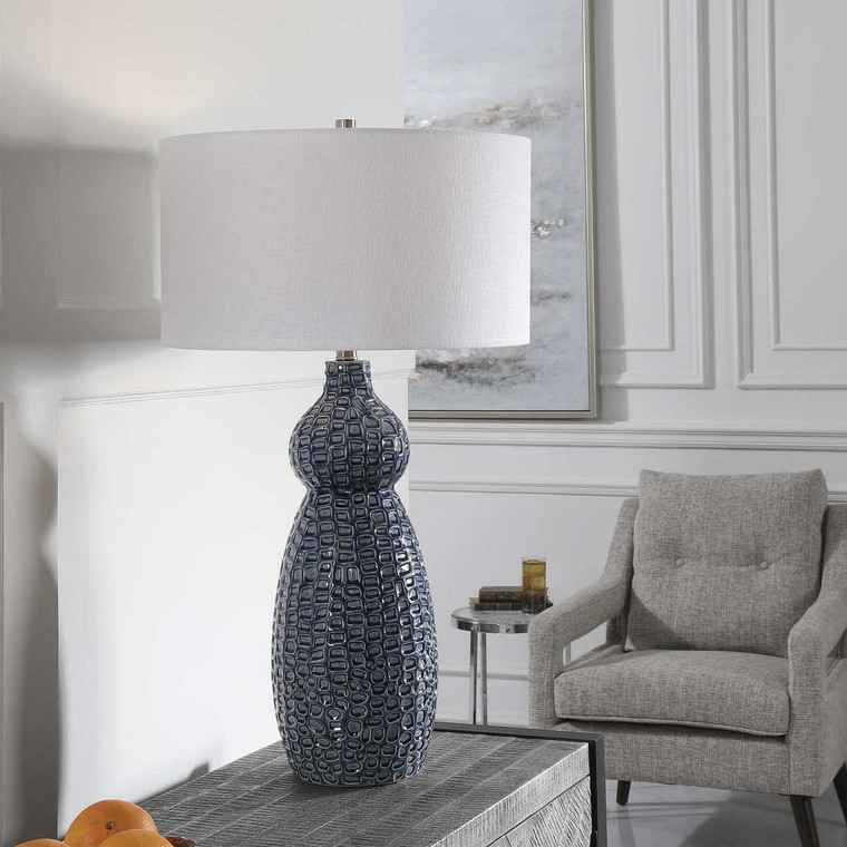 Holloway Table Lamp - Size: 81H x 46W x 46D (cm)
