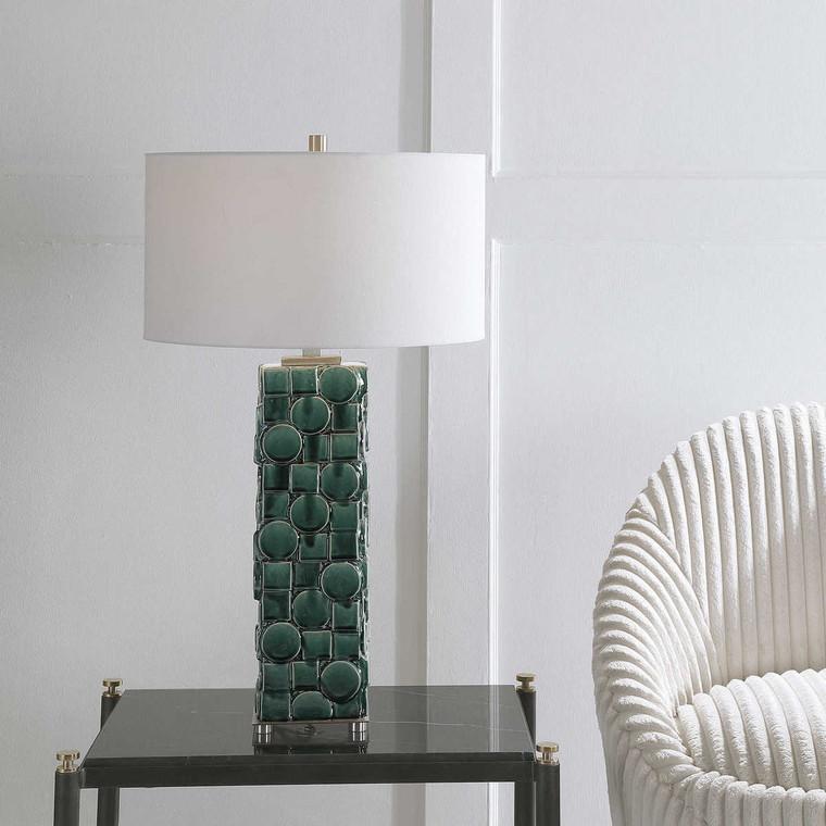 Geometry Table Lamp - Size: 79H x 46W x 46D (cm)