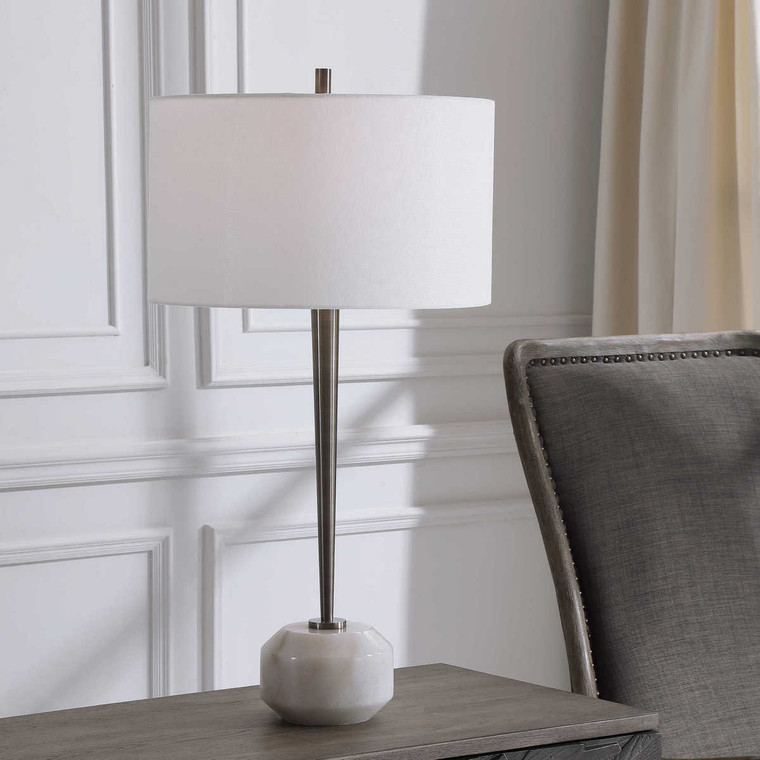 Danes Modern Table Lamp - Size: 76H x 41W x 41D (cm)
