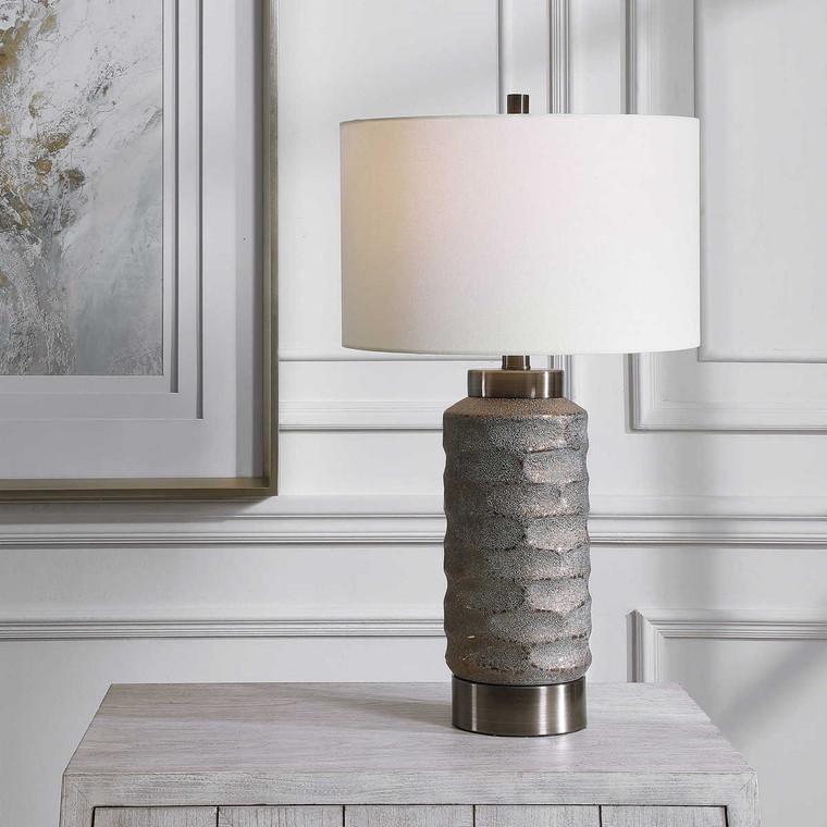 Masonry Ceramic Table Lamp - Size: 71H x 41W x 41D (cm)