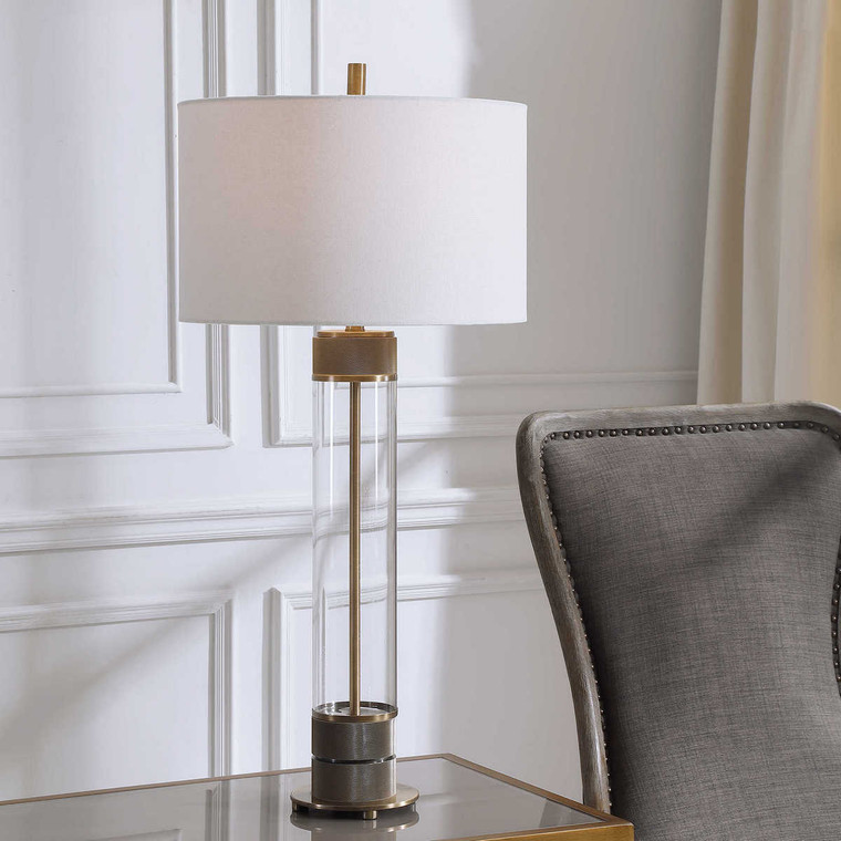 Anmer Table Lamp - Size: 89H x 41W x 41D (cm)