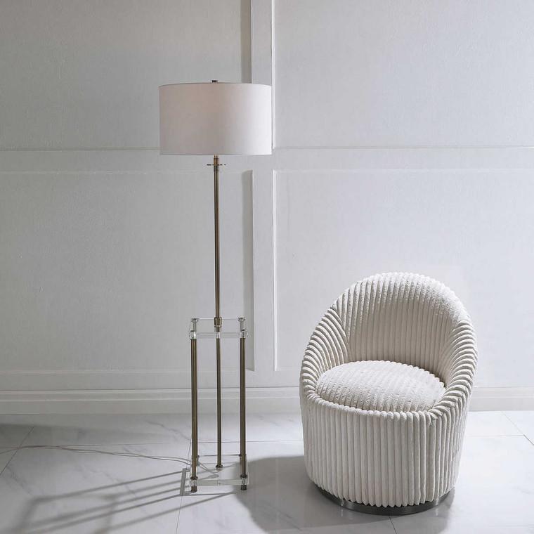 Palladian Floor Lamp - Size: 169H x 46W x 46D (cm)