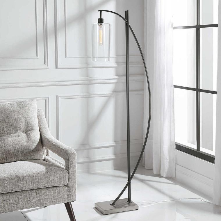 Gateway Floor Lamp - Size: 163H x 42W x 22D (cm)