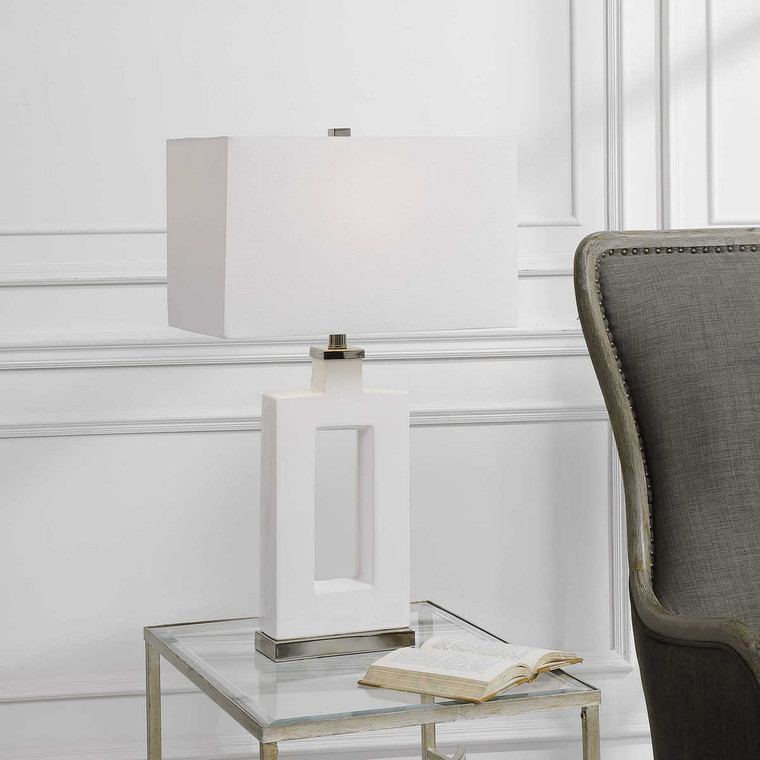 Entry Table Lamp - Size: 75H x 43W x 25D (cm)