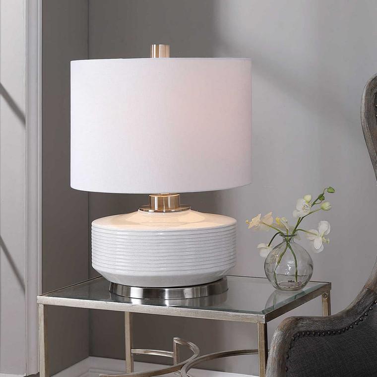 Sailor Stripe Table Lamp - Size: 62H x 46W x 46D (cm)