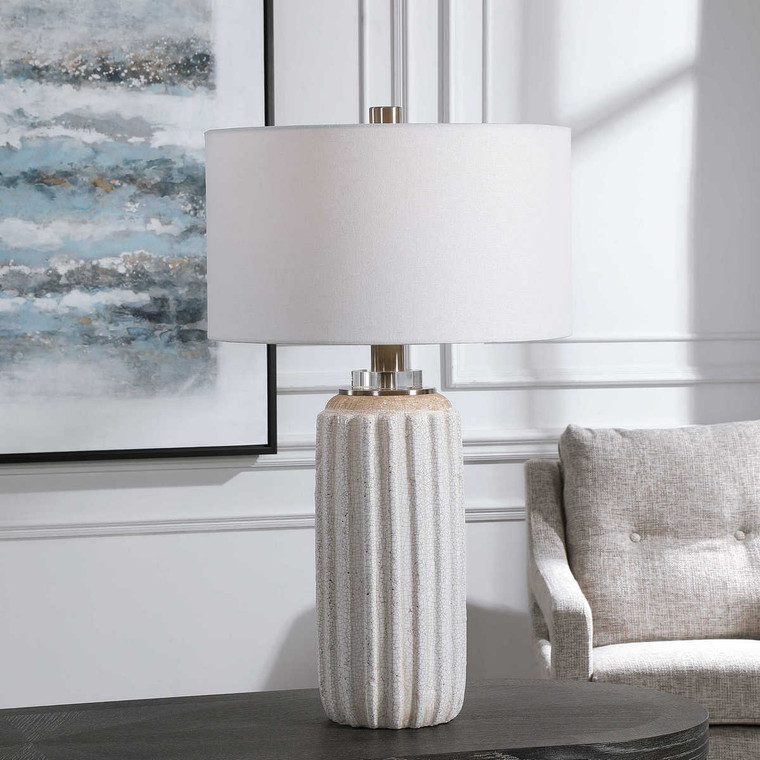 Azariah Table Lamp - Size: 74H x 43W x 43D (cm)