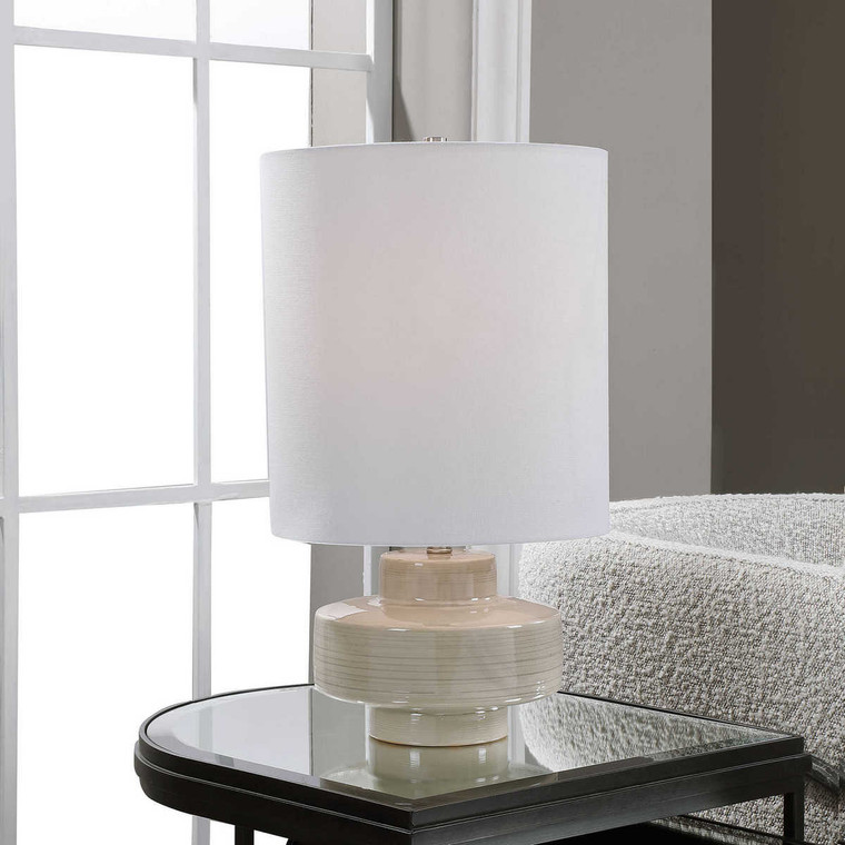Orwell Accent Lamp - Size: 50H x 28W x 28D (cm)