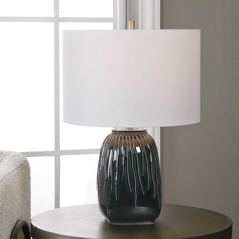 Marimo Table Lamp - Size: 55H x 38W x 38D (cm)