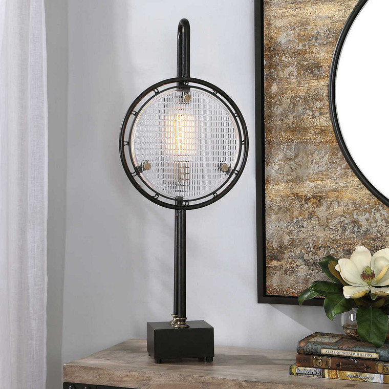 Ardell Industrial Accent Lamp - Size: 91H x 37W x 13D (cm)
