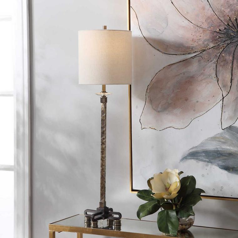Parnell Industrial Buffet Lamp - Size: 86H x 23W x 23D (cm)
