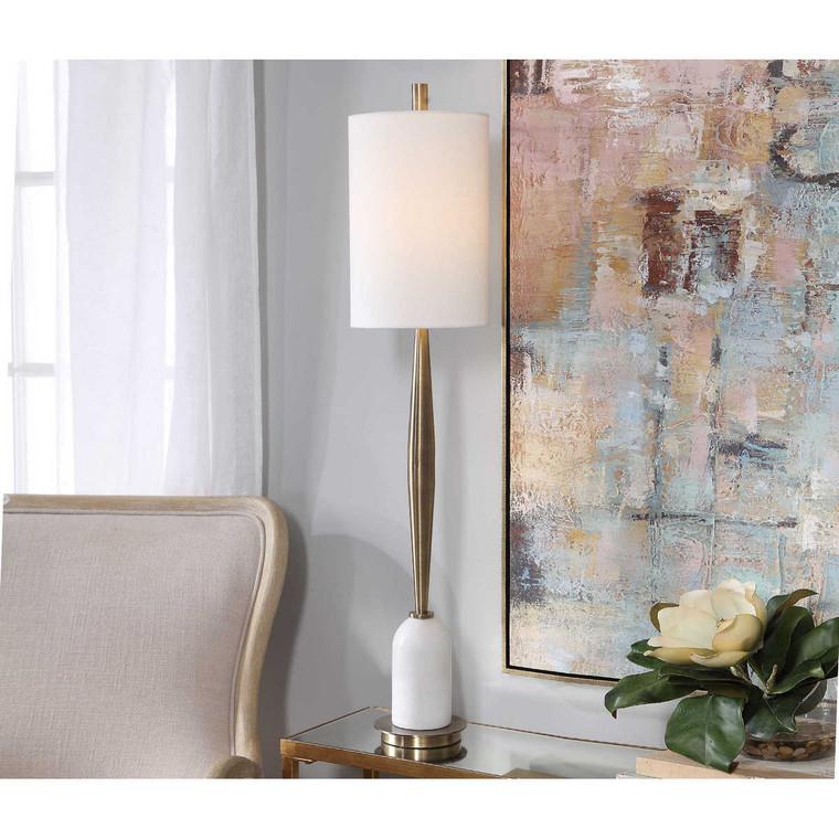 Minette Mid-Century Buffet Lamp - Size: 102H x 22W x 22D (cm)