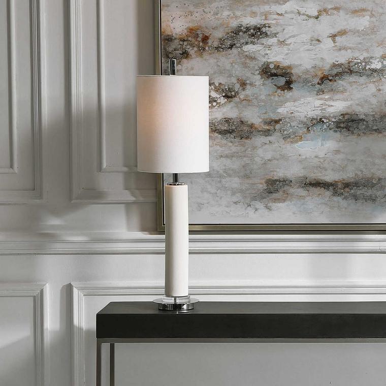 Windsor Buffet Lamp - Size: 80H x 23W x 23D (cm)