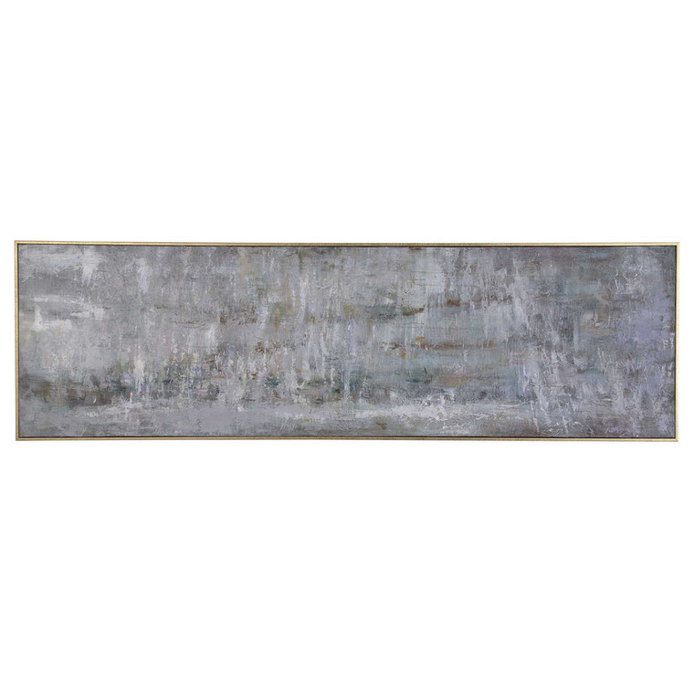Frenzy Hand Painted Canvas - Size: 185H x 56W x 6D (cm)
