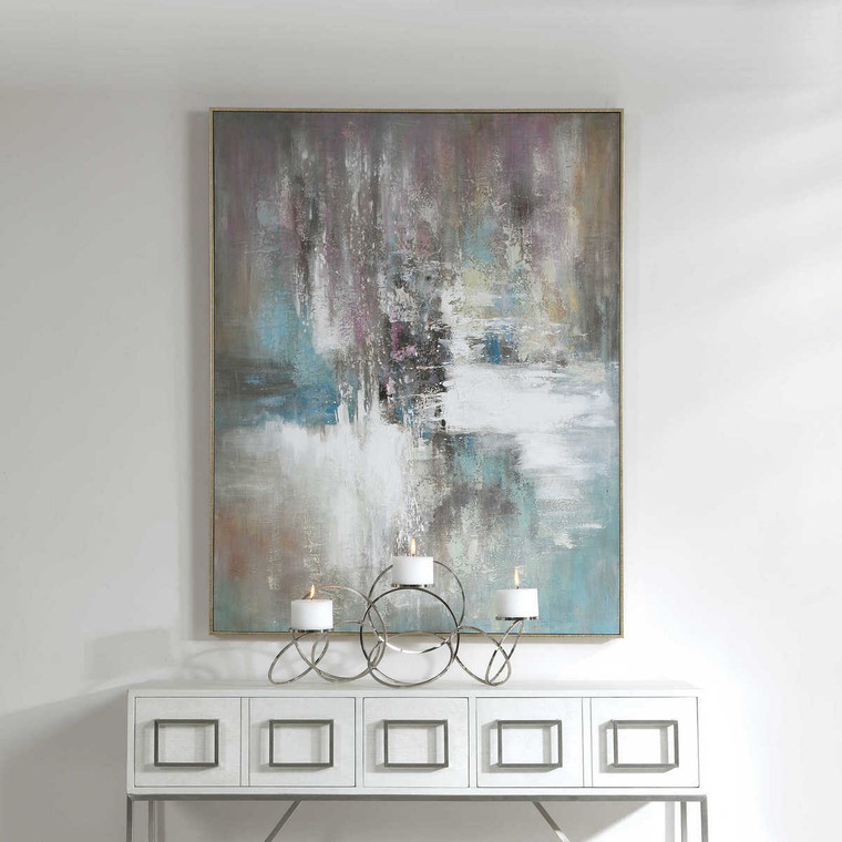 Elevation Abstract Art - Size: 139H x 106W x 6D (cm)