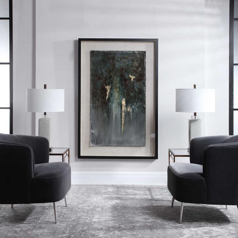 Rustic Patina Grande Abstract Art - Size: 151H x 100W x 6D (cm)