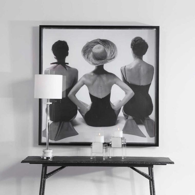 Ladies' Swimwear 1959 Fashion Print - Size: 129H x 129W x 8D (cm)