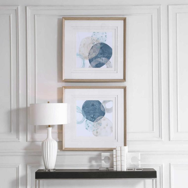 Circlet Modern Prints Set/2 - Size: 79H x 79W x 5D (cm)