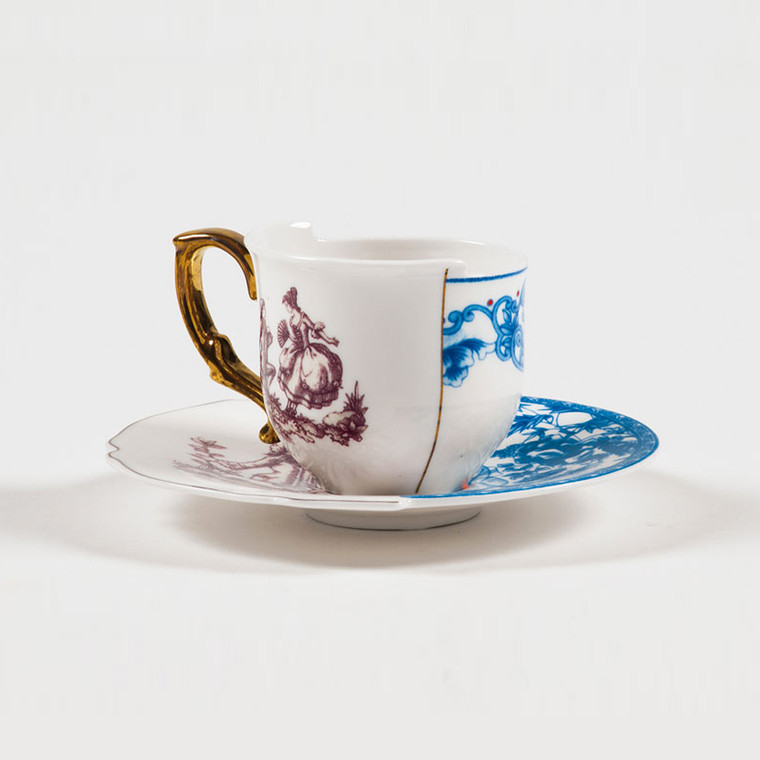 Hybrid Coffee Cup & Saucer - Eufemia
