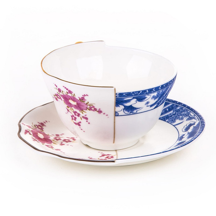 Hybrid Tea Cup & Saucer - Zenobia