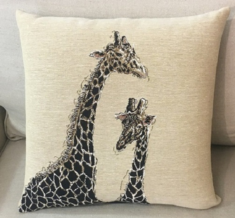 African Giraffe Cushion