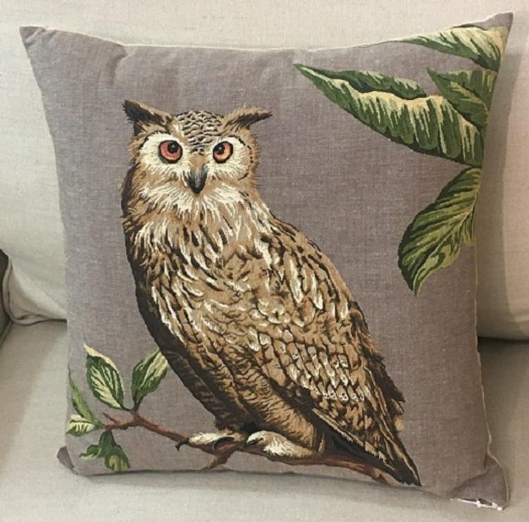 Horned Owl Cushion