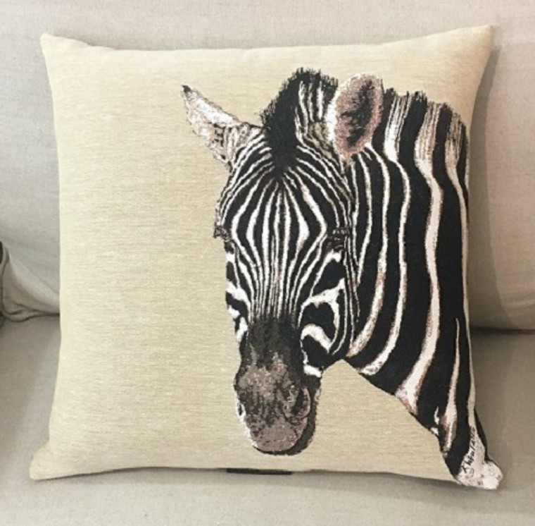 African Zebra Cushion