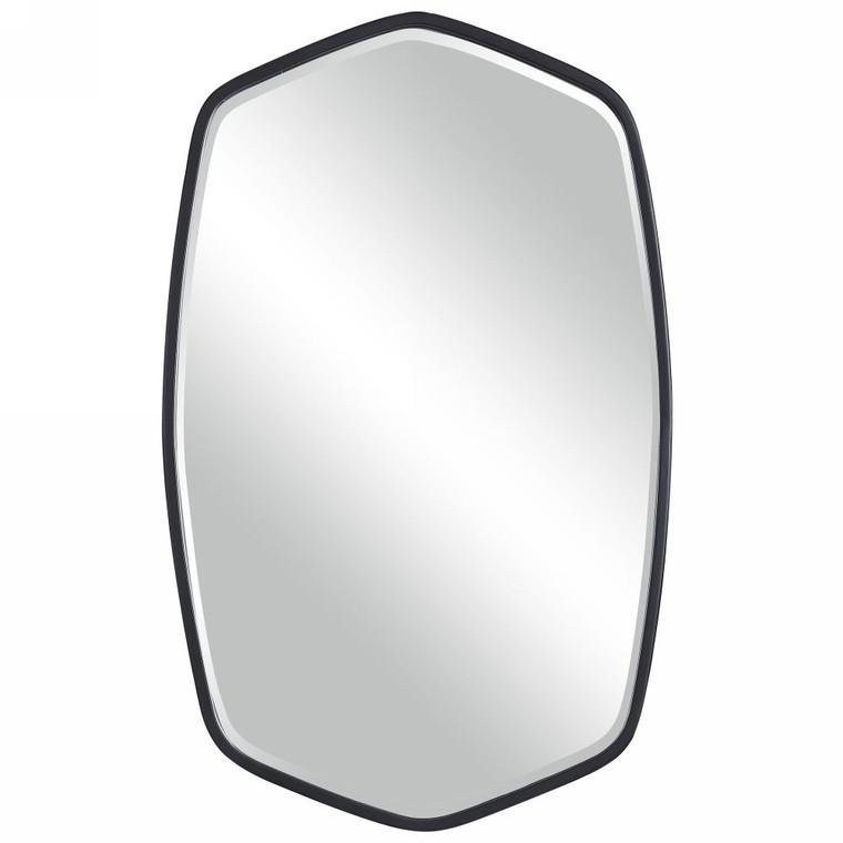 Duronia Black Iron Mirror - Size: 92H x 57W x 4D (cm)