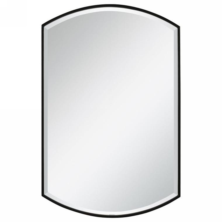 Shield Shaped Iron Mirror - Size: 97H x 61W x 3D (cm)