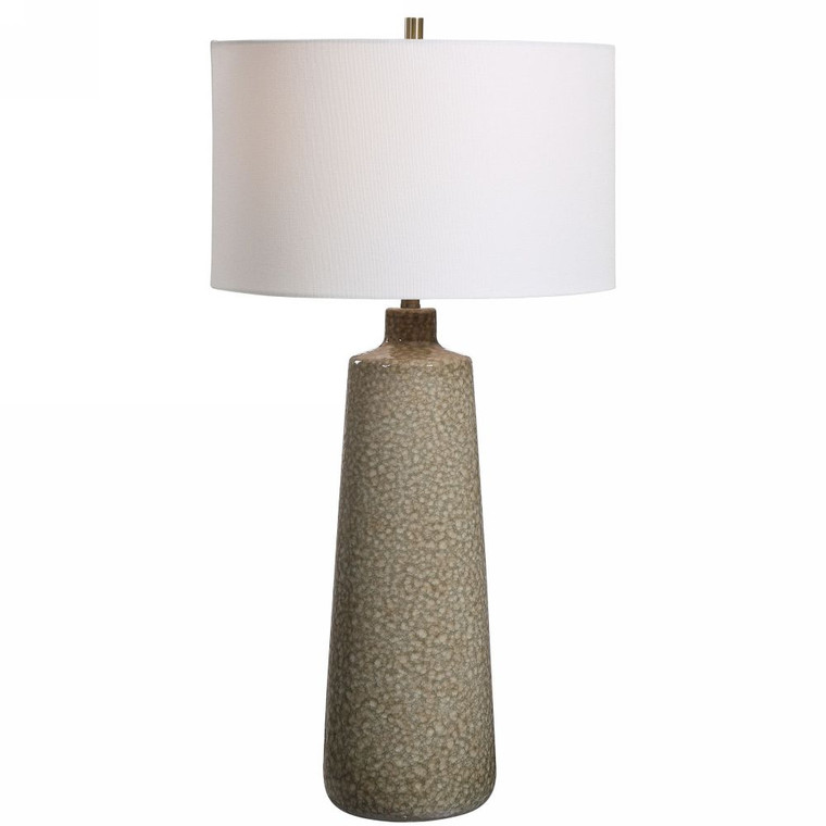 Linnie Sage Green Table Lamp - Size: 80H x 41W x 41D (cm)