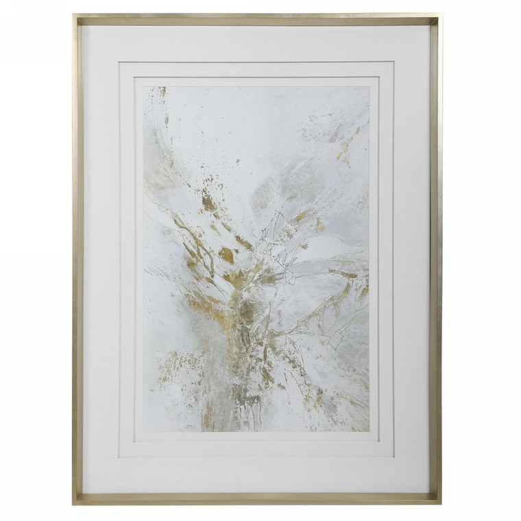 Pathos Framed Abstract Print - Size: 126H x 95W x 6D (cm)