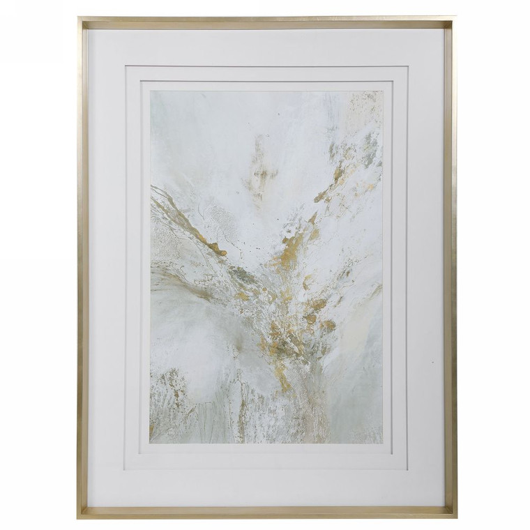 Ethos Framed Abstract Print - Size: 126H x 95W x 6D (cm)
