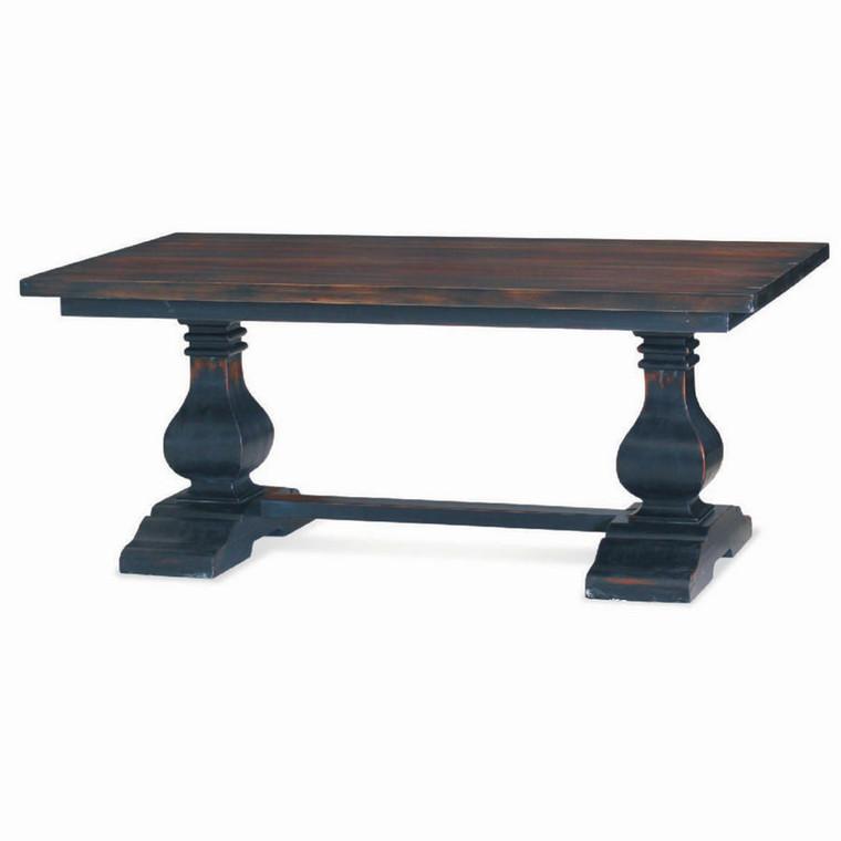 Provincial Coffee Table - Size: 51H x 122W x 58D (cm)