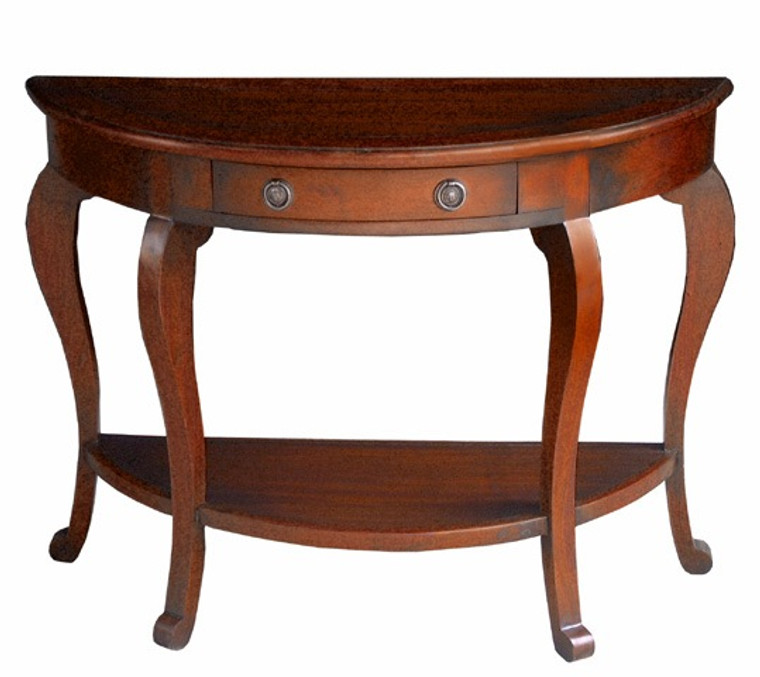 Cancan Curved-leg Consol Table - Size: 74H x 100W x 41D (cm)