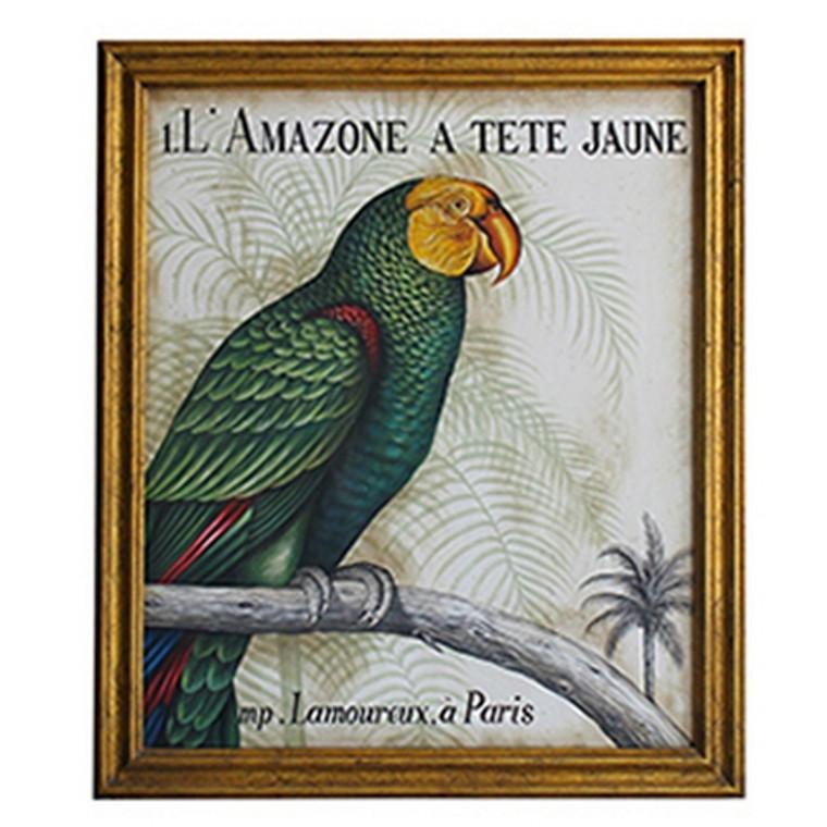 Artesian Frame with Canvas Art - Size: 138H x 118W x 5D (cm)