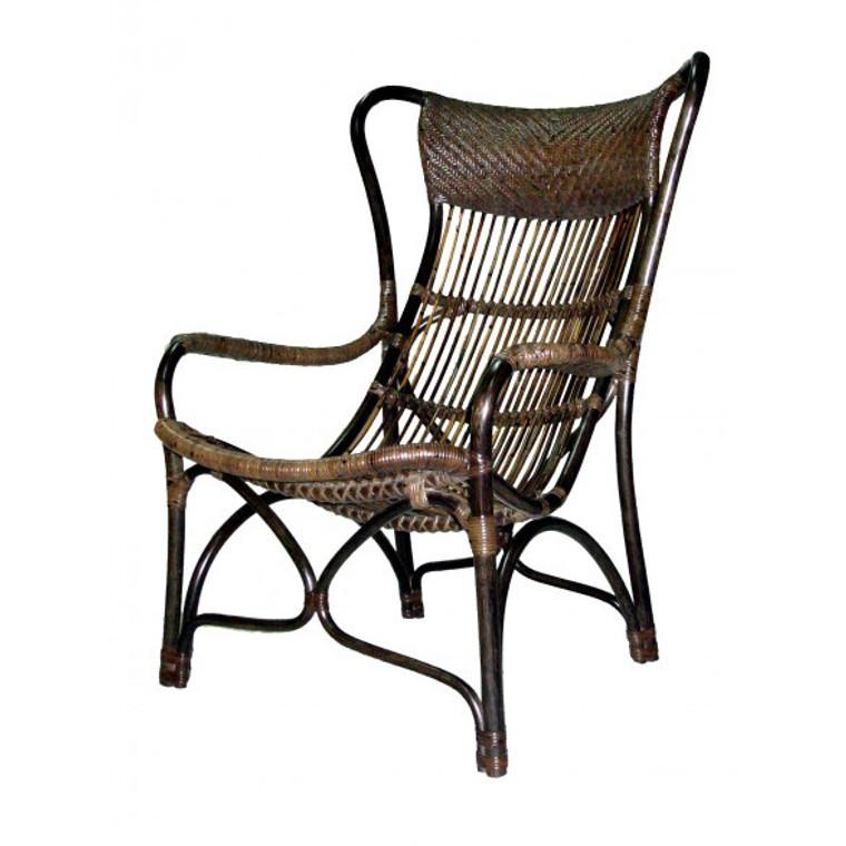 Como Lounge Chair - Antique Brown