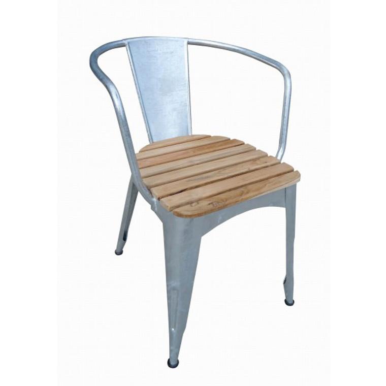 Parma Armchair with Teak