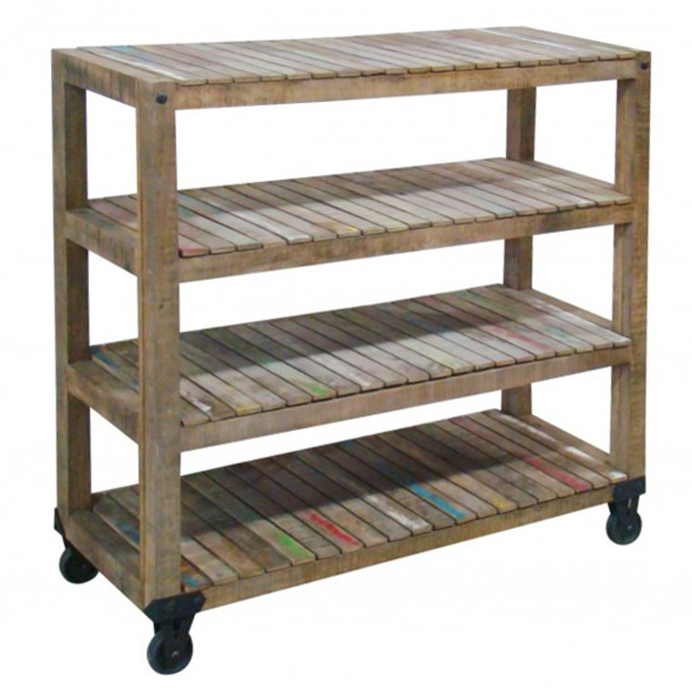 Crayon 4 Shelf Bookstand