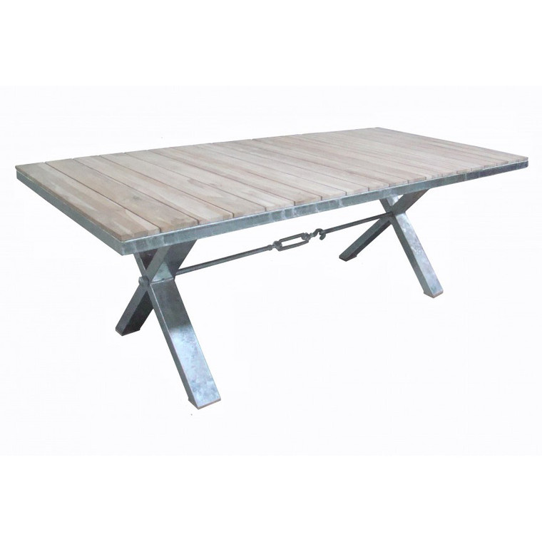 Portside X-base Dining Table