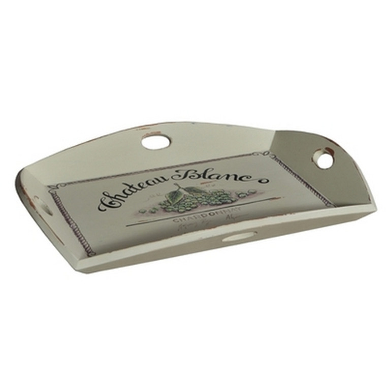 Homestead 4 Handle Serving Tray - Size: 9H x 77W x 57D (cm)