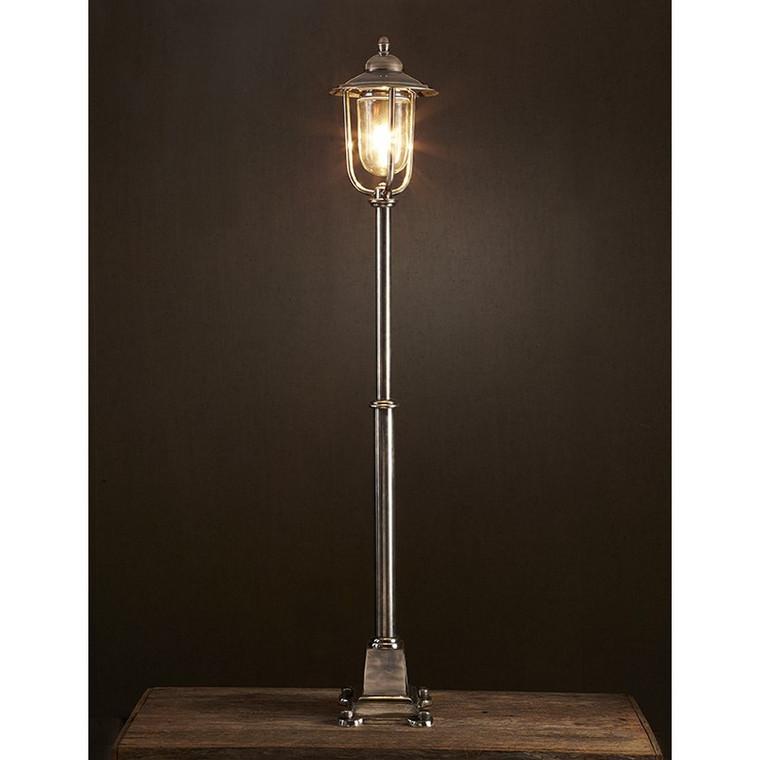 Hampstead Floor Lamp - Antique Silver