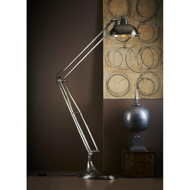 Mercury Floor Lamp - Antique Silver