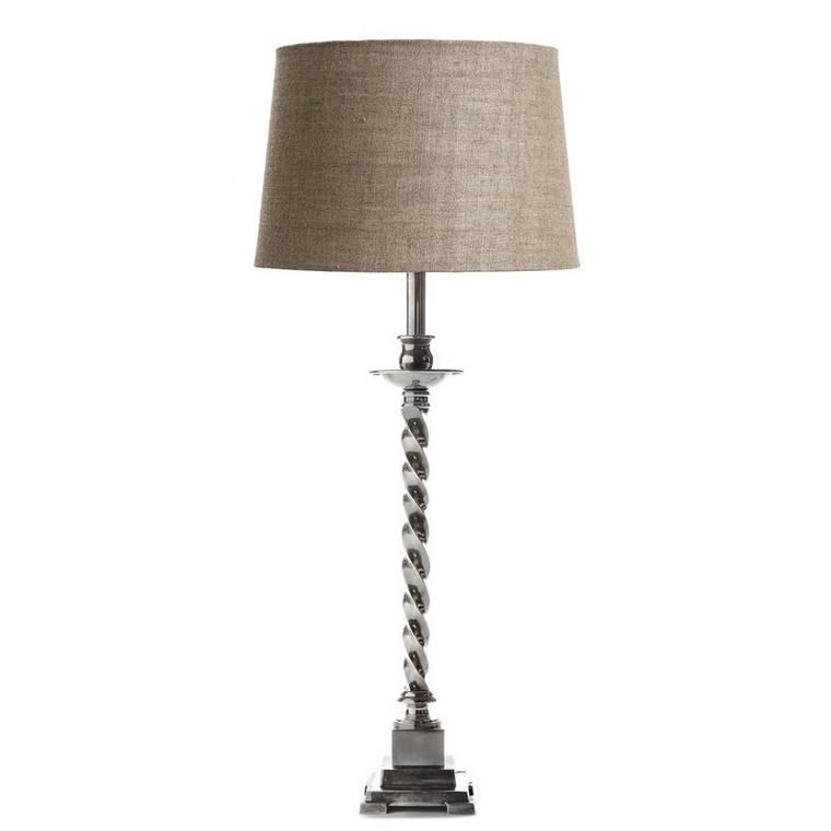 Roxbury Table Lamp - Antique Silver