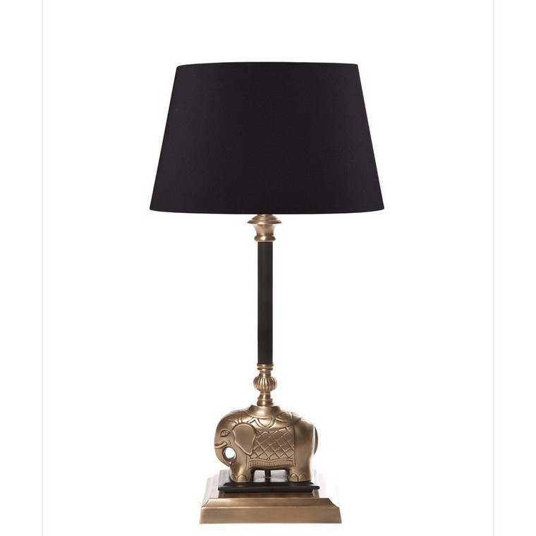 Sabu Table Lamp Dark - Antique Brass